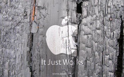 wooden-apple-wallpaper