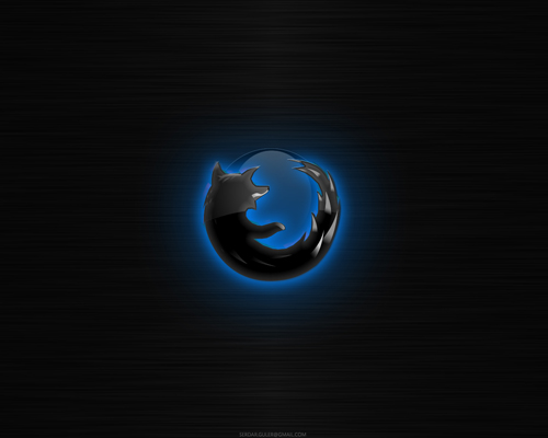 Firefox___The_Blackfox_Edition_by_serdarguler