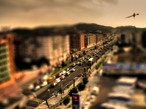 Barcelona_Road_Tilt_Shift_by_ChaosBearer