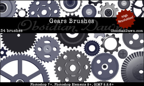 Gears_Vectors_Brushes
