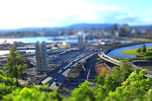 Tilt_shift_Oslo_2_by_mariusjellum