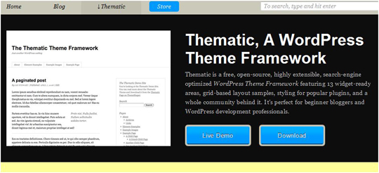  Top 10 Preferred WordPress Theme Development Frameworks