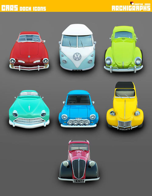 Archigraphs_Cars_Icons_by_Cyberella74