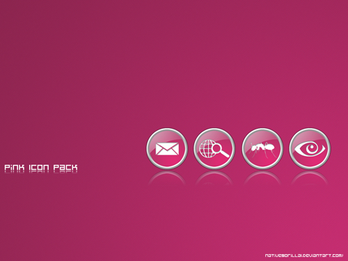 Pink_Icon_Pack_by_NativeGorilla1