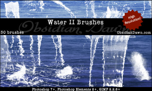 Water II Brushes