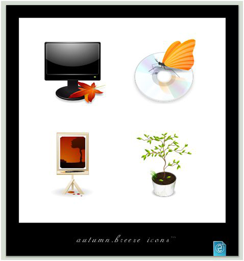 autumn breeze icons