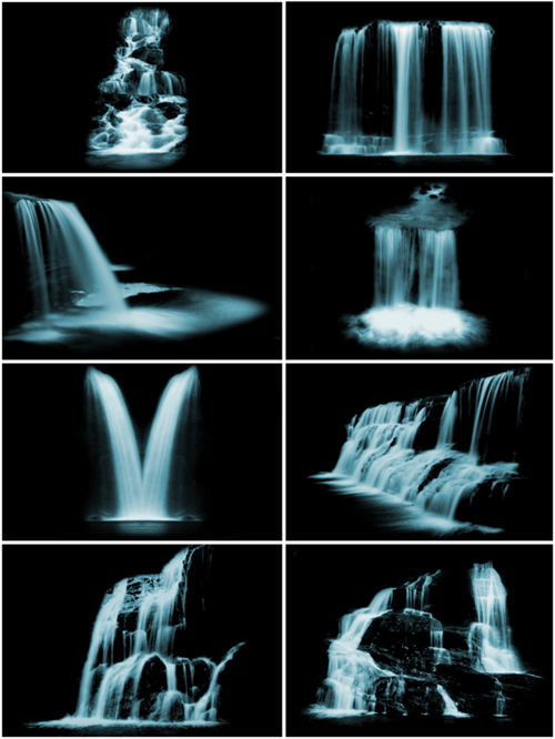 waterfalls brushes