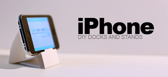 25 DIY iPhone Docks and Stands