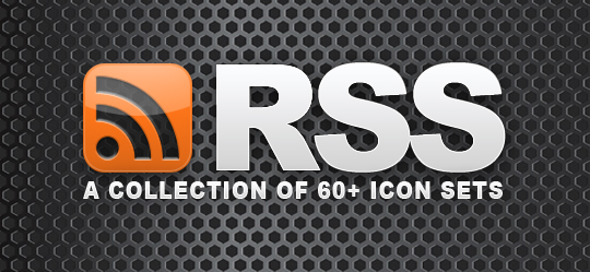 60 RSS Icon Sets
