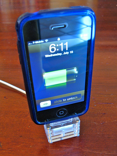 Acrylic iPhone Dock