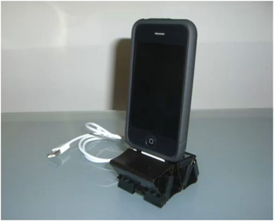 Binder Clip iPhone Dock