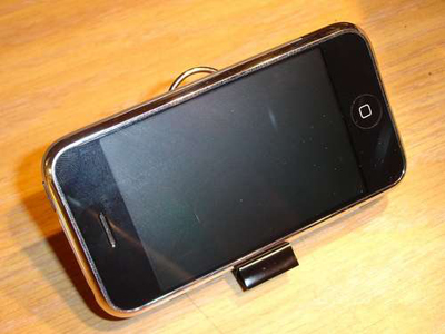 Binder Clip iPhone Stand