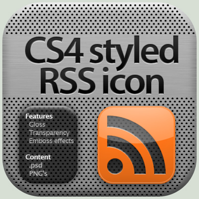 CS4 Styled RSS