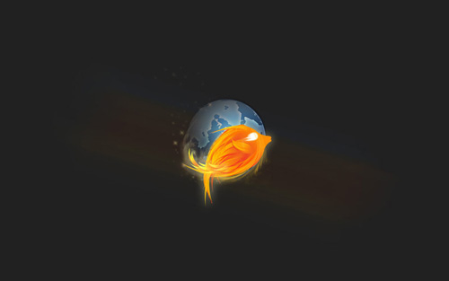 Fire Fish Wallpaper