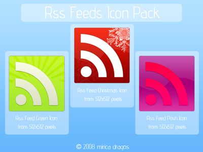 RSS Feed Icons 2