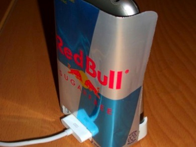 Red bull iPhone Dock