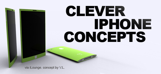 25 clever iphone concepts