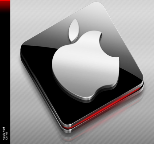 Apple HDD Icon