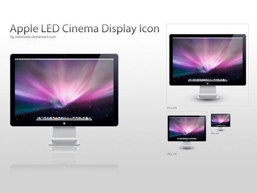 Apple LED Display Icon