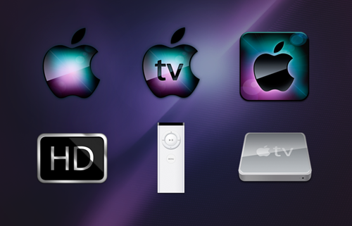 Apple TV Icons