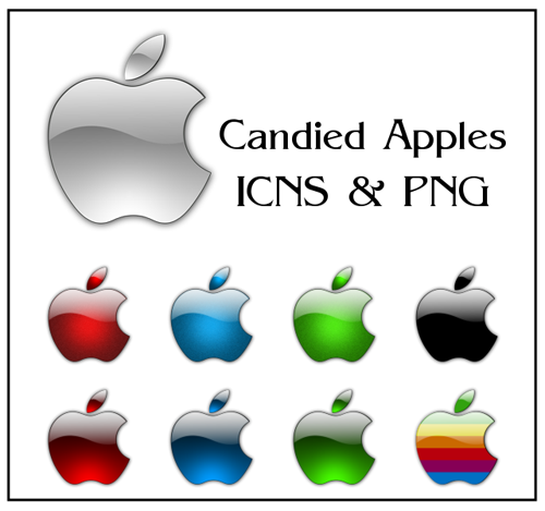 Candied Apple Icons