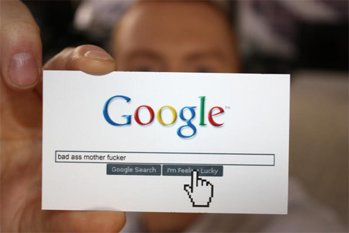 Google Funny Card