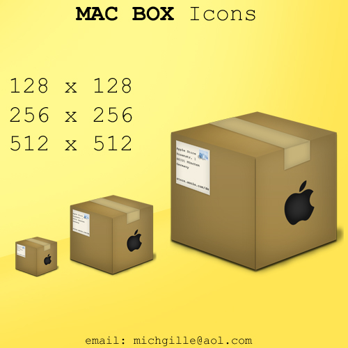 Mac Box Icon