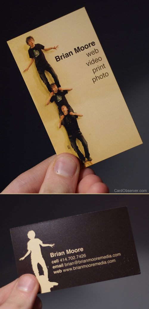 100 Remarkably Creative Business Cards | Bluefaqs