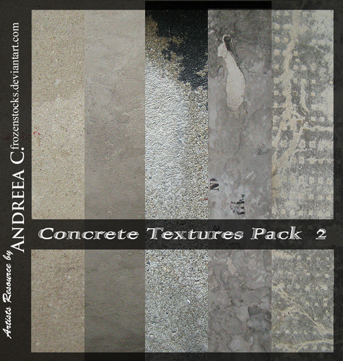 5 textures by frozenstocks