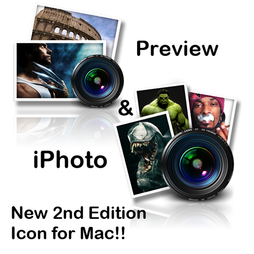 iPhoto Preview Icon