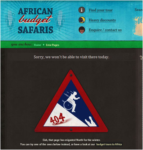 safaris 404