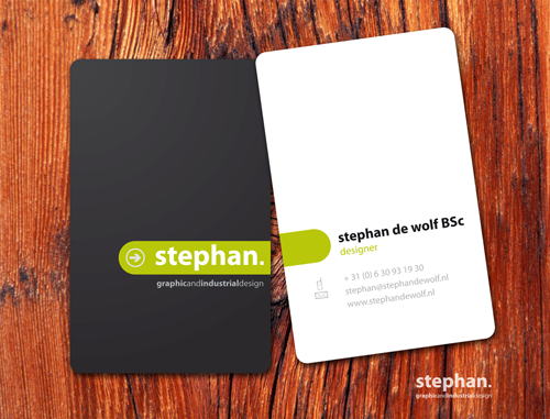 stephan business card