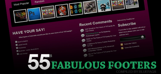 55 fabulous footers