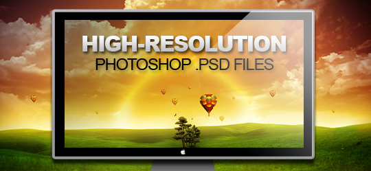 70 High Res psd files