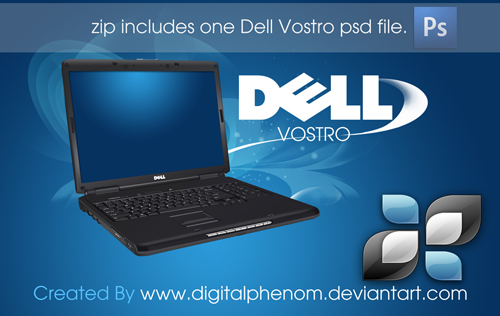 Dell_Vostro_psd_by_DigitalPhenom