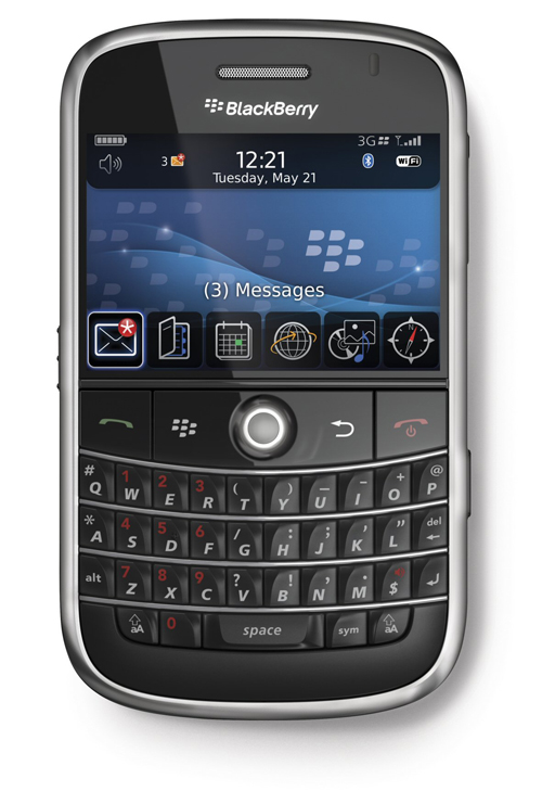 FrontBlackBerry Bold