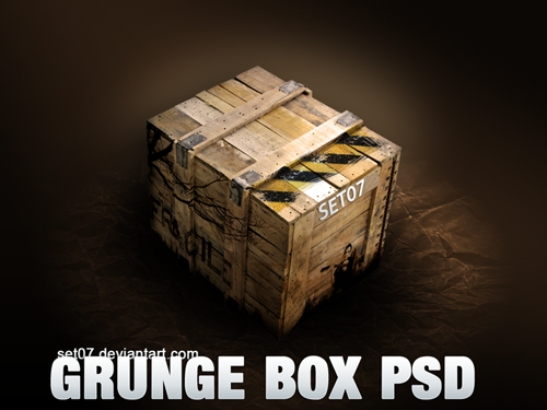 GRUNGE_BOX_PSD_by_SET07