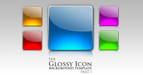 Glossy_Icon_template_part_I_by_niccey