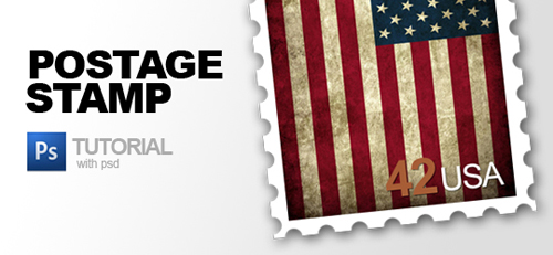 Postage-Stamp-Photoshop-tutorial