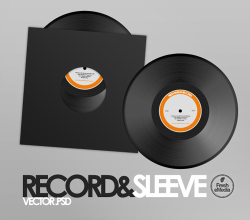 Record_and_Sleeves_PSD_by_freshemedia