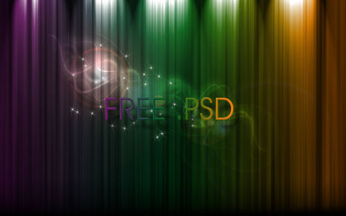 free_psd_rainbow_by_djeric