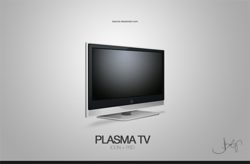 _icon__Plasma_TV_by_benrulz