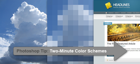 Photoshop Color Schemes