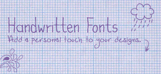 25 Free Handwritten Fonts For That Personal Touch