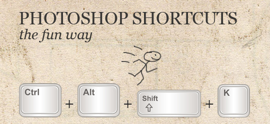 photoshop shortcuts fun