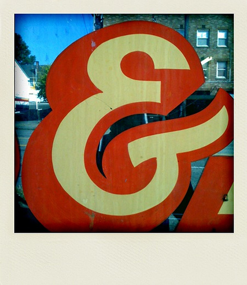 ampersand window