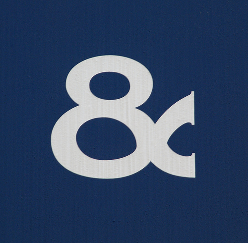 blue awning ampersand