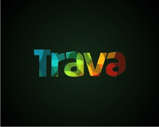 Trava 30 Fresh Logos To Get Your Creative Juices Flowing