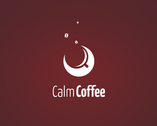 calm coffee 30 Fresh Logos To Get Your Creative Juices Flowing