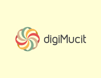 digimucit logo 30 Fresh Logos To Get Your Creative Juices Flowing